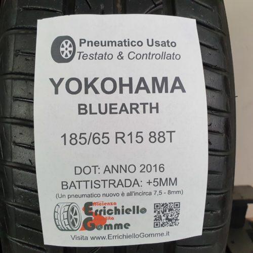 185/65 R15 88T Yokohama Bluearth – 60% +5mm – Gomme Estive