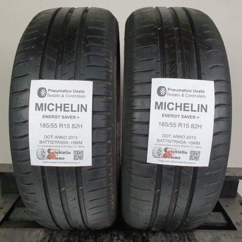 185/55 R15 82H Michelin Energy Saver+ – 60% +5mm – Gomme Estive