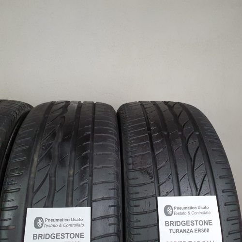 205/55 R16 91H Bridgestone Turanza ER300 – 60% +5mm – Gomme Estive
