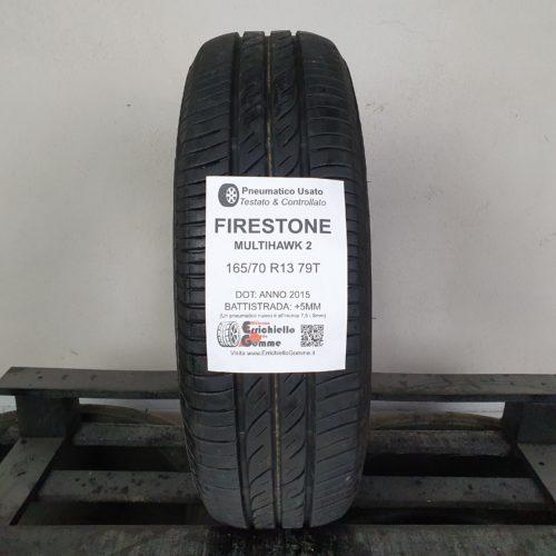 165/70 R13 79T Firestone MultiHawk 2 – 60% +5mm – Gomma Estiva