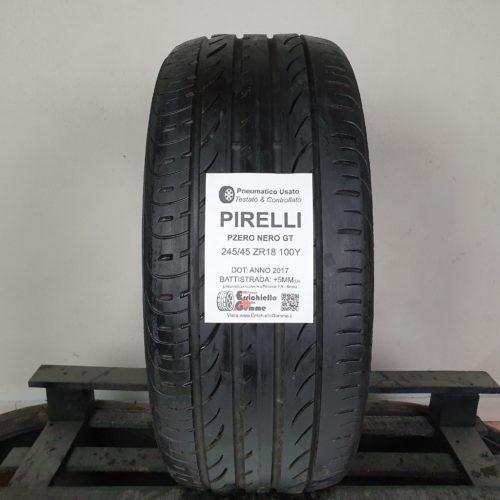 245/45 ZR18 100Y Pirelli Pzero Nero GT – 60% +5mm Gomma Estiva