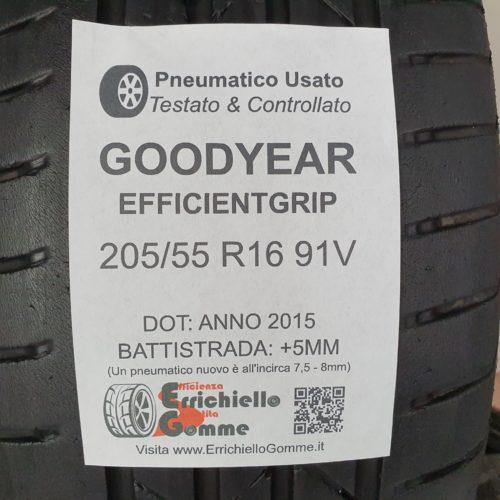 205/55 R16 91V Goodyear EfficientGrip –  60% +5mm – Gomme Estive