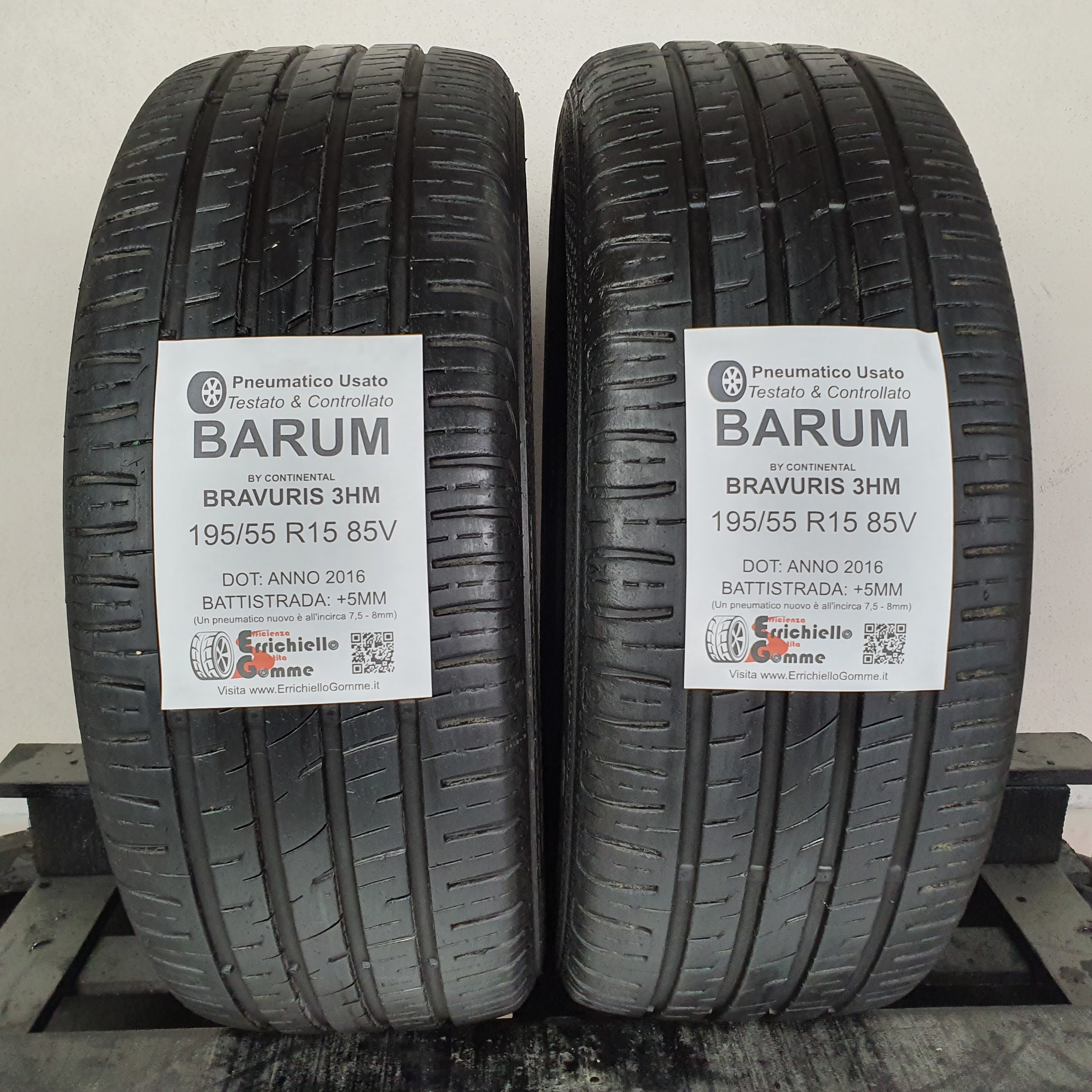 Gomme Barum Bravuris 5 hm 195 55 R15 85V TL Estivi per Auto
