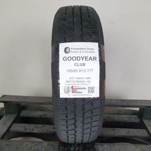165/65 R13 77T Goodyear Club – 60% +5mm – Gomma Estiva