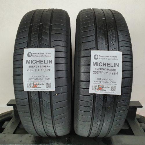 205/60 R16 92H Michelin Energy Saver+ – 60% +5mm – Gomme Estive