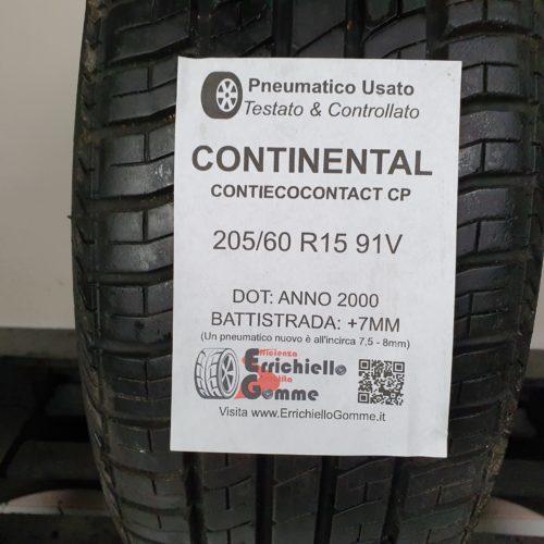 205/60 R15 91V Continental ContiEcoContact CP – 90% +7mm – Gomma Estiva