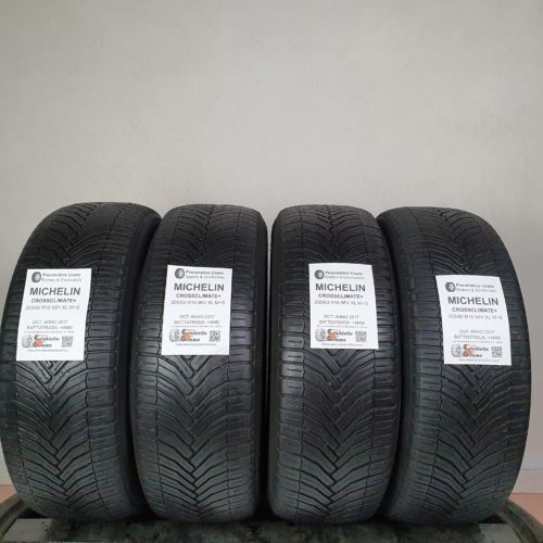 205/60 R16 96V XL M+S Michelin CrossClimate+ – 50% +4mm Gomme 4 Stagioni