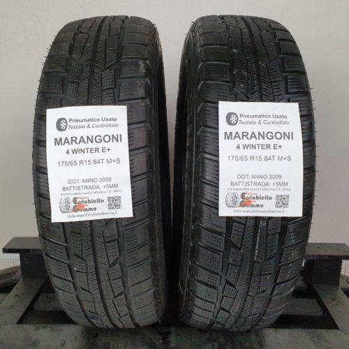 175/65 R15 84T M+S Marangoni 4 Winter E+ – 60% +5mm – Gomme Invernali