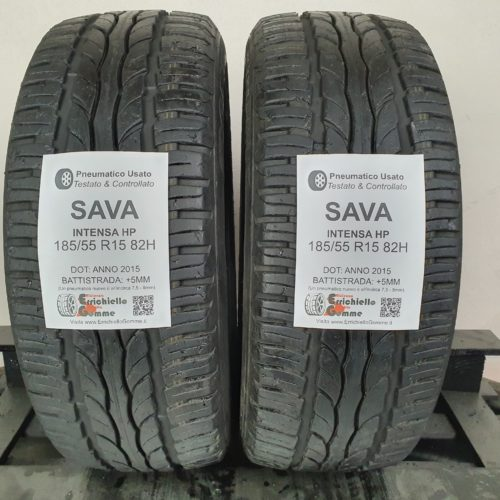 185/55 R15 82H Sava Intensa HP – 60% +5mm – Gomme Estive