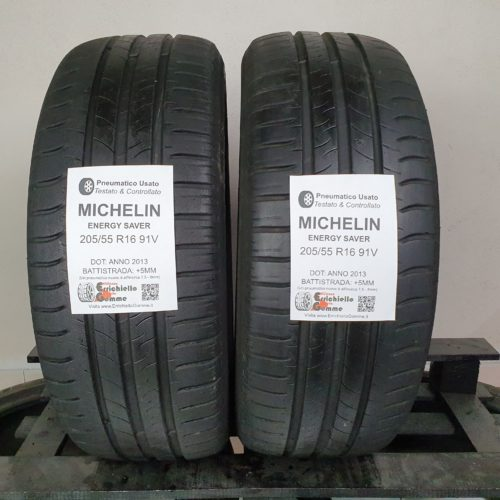 205/55 R16 91V Michelin Energy Saver –  60% +5mm – Gomme Estive