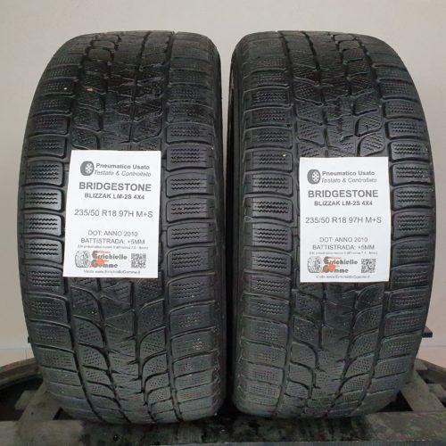 235/50 R18 97H M+S Bridgestone Blizzak LM-2S 4×4 –  60% +5mm – Gomme 4 Stagioni
