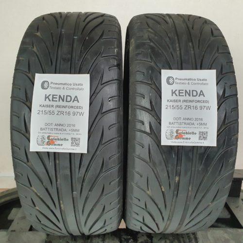 215/55 ZR16 97W Kenda Kaiser (Reinforced) – 60% +5mm – Gomme Estive