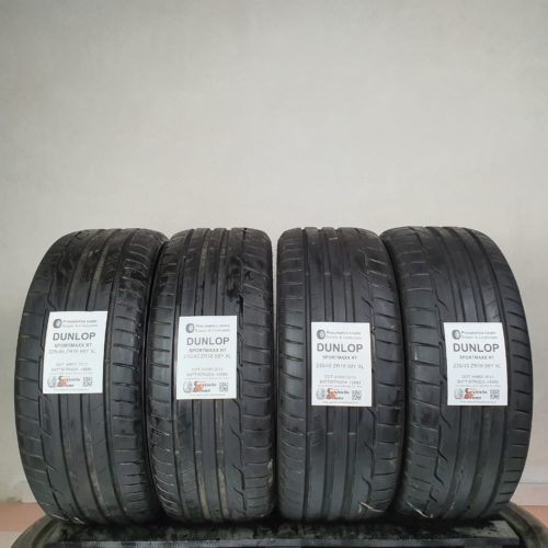 235/45 ZR18 98Y XL Dunlop SportMaxx RT – 60% +5mm Gomme Estive