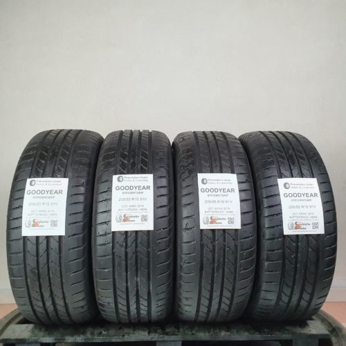 205/55 R16 91V Goodyear EfficientGrip – 70% +6mm – Gomme Estive