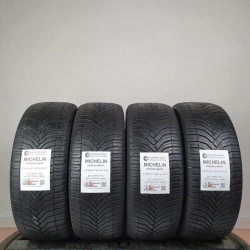 215/50 R17 95W XL M+S Michelin CrossClimate –  60% +5mm – Gomme 4 Stagioni