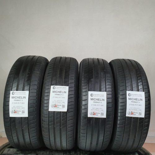 215/65 R17 99V Michelin Primacy 3 – 50% +4mm – Gomme Estive