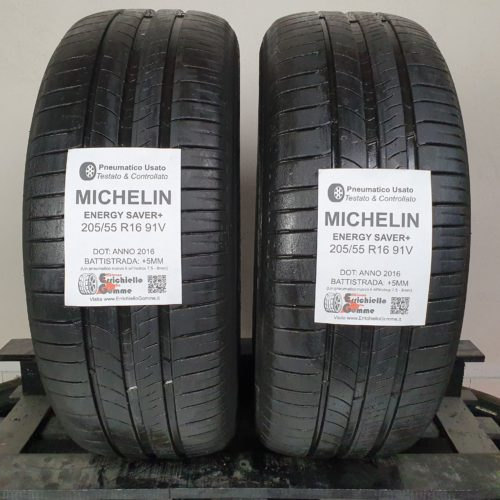 205/55 R16 91V Michelin Energy Saver+ – 60% +5mm – Gomme Estive