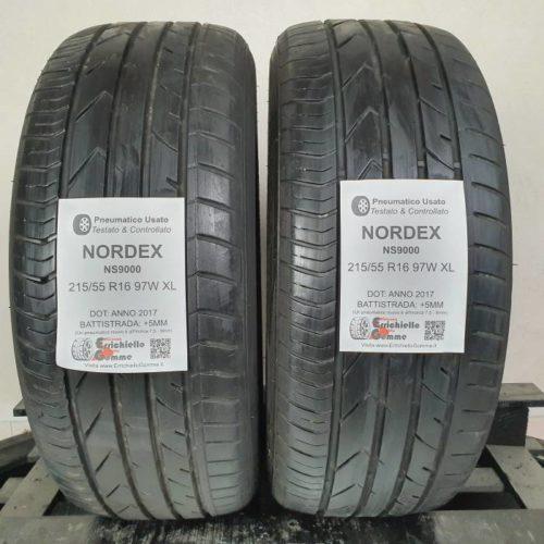 215/55 R16 97W XL Nordex NS9000 –  60% +5mm – Gomme Estive