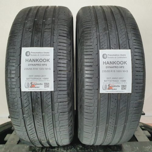 235/55 R18 100H Hankook Optimo K415 – 50% +4mm – Gomme Estive