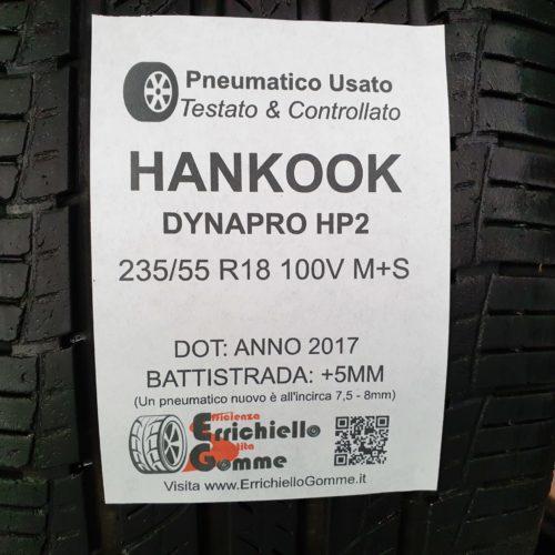 235/55 R18 100H Hankook Optimo K415 – 50% +4mm – Gomme Estive
