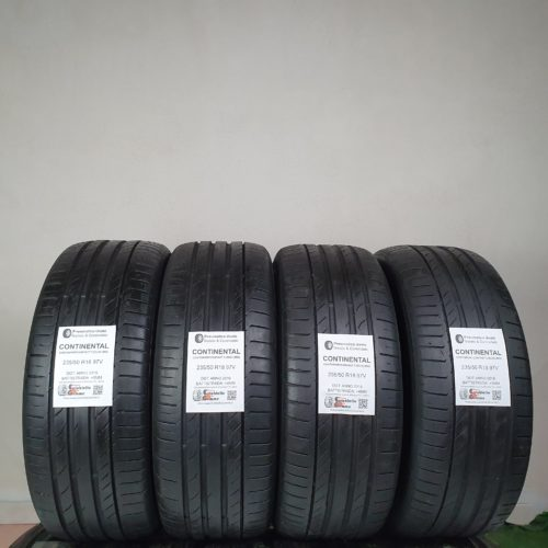 235/50 R18 97V Continental ContiSportContact 5 (SUV) (MO) – 50% +4mm – Gomme Estive
