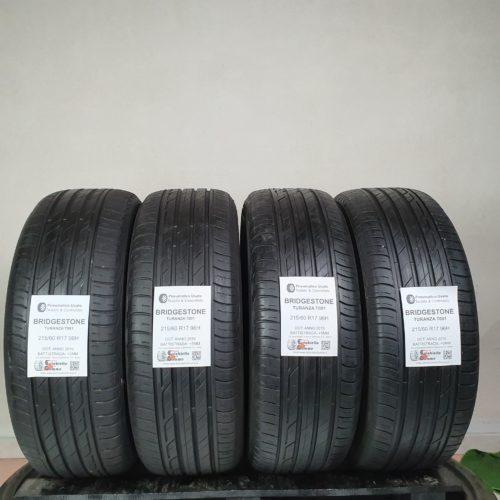 215/60 R17 96H Bridgestone Turanza T001 – 60% +5mm – Gomme Estive