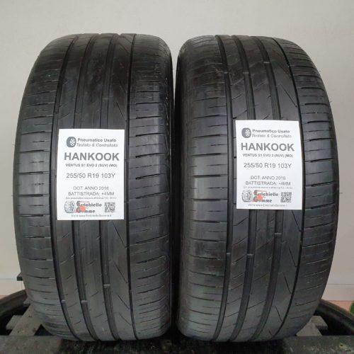 255/50 R19 103Y Hankook Ventus S1 Evo 2 (SUV) (MO) – 50% +4mm – Gomme Estive