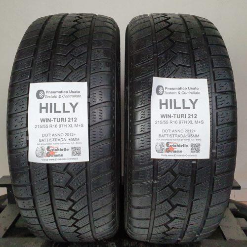 215/55 R16 97H XL M+S HiFly Win-Turi 212 –  60% +5mm – Gomme 4 Stagioni