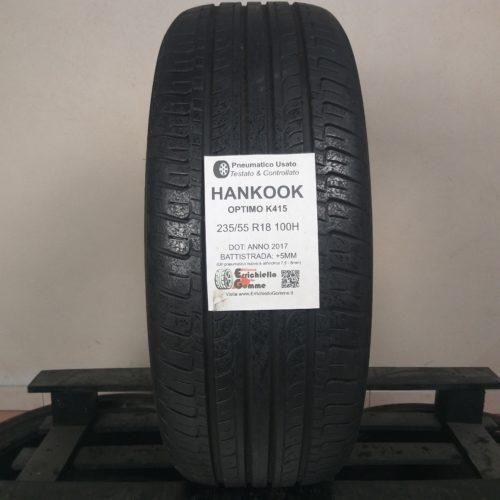 235/55 R18 100H Hankook Optimo K415 – 60% +5mm – Gomma Estiva