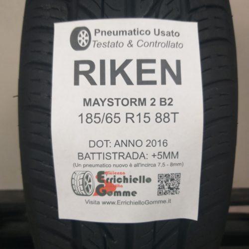 185/65 R15 88T Riken Maystorm 2 B2 – 60% +5mm – Gomma Estiva