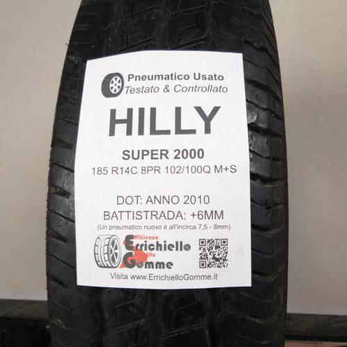 185 R14C 8PR 102/100Q M+S HiFly Super 2000 – 70% +6mm Gomma Trasporto 4 Stagioni
