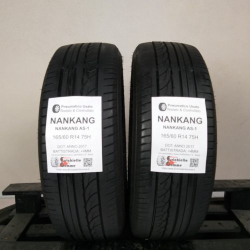 165/60 R14 75H Nankang AS-1 – 50% +4mm – Gomme Estive