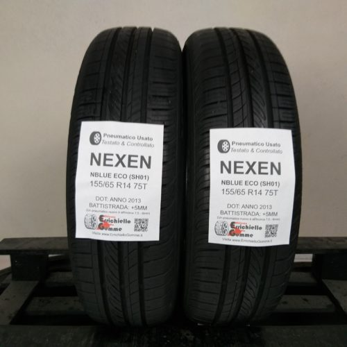 155/65 R14 75T Nexen NBlue Eco (SH01) – 60% +5mm – Gomme Estive