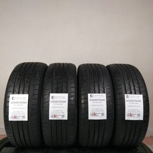 205/55 R16 91V Goodyear EfficientGrip – 60% +5mm – Gomme Estive
