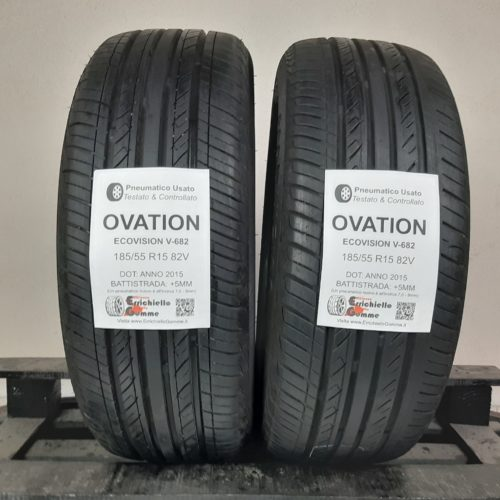 185/55 R15 82V Ovation EcoVision V-682 –  60% +5mm – Gomme Estive