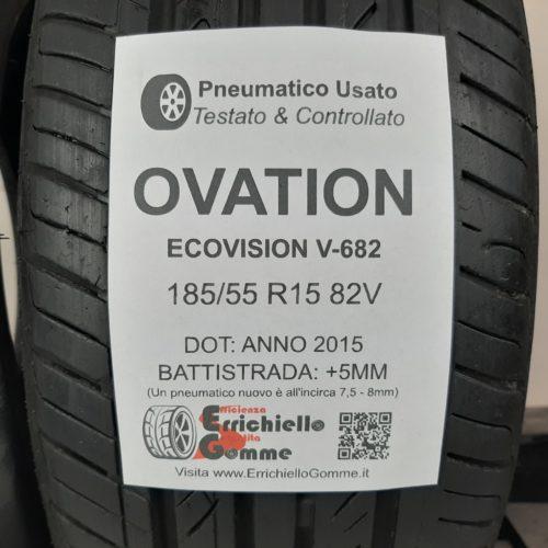 185/55 R15 82V Ovation EcoVision V-682 –  60% +5mm – Gomme Estive