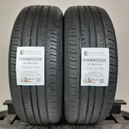 225/60 R17 99H Hankook Optimo K415 -60% +5mm – Gomme Estive