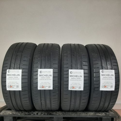 205/55 R16 91H Michelin Energy Saver –  60% +5mm – Gomme Estive