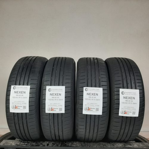 185/60 R15 84H Nexen NBlue HD – 50/60% +4/5mm – Gomme Estive