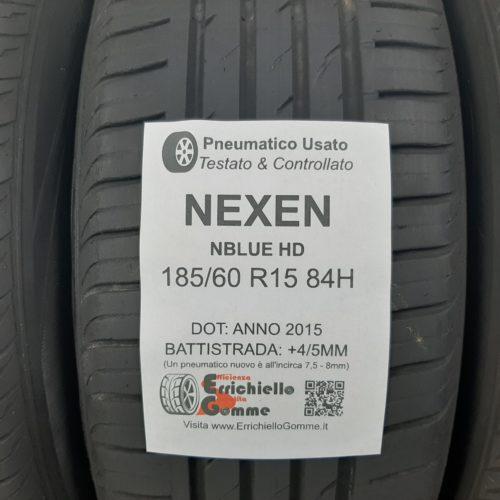 185/60 R15 84H Nexen NBlue HD – 50/60% +4/5mm – Gomme Estive