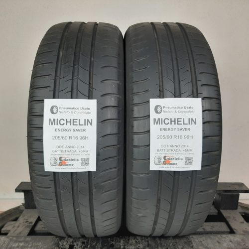 205/60 R16 96H Michelin Energy Saver – 60% +5mm – Gomme Estive