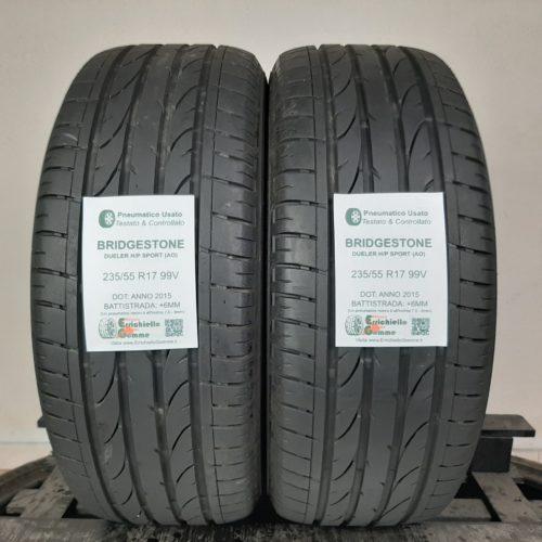 235/55 R17 99V Bridgestone Dueler H/P Sport (AO) –  70% +6mm – Gomme Estive