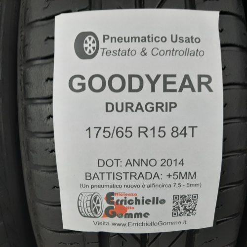 175/65 R15 84T Goodyear Duragrip – 60% +5mm – Gomme Estive