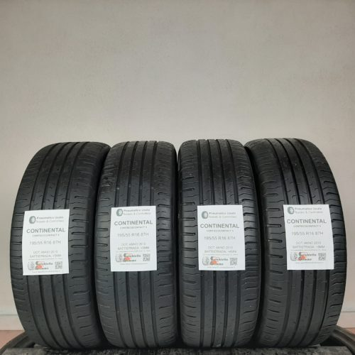 195/55 R16 87H Continental ContiEcoContact 5 –  60% +5mm – Gomme Estive