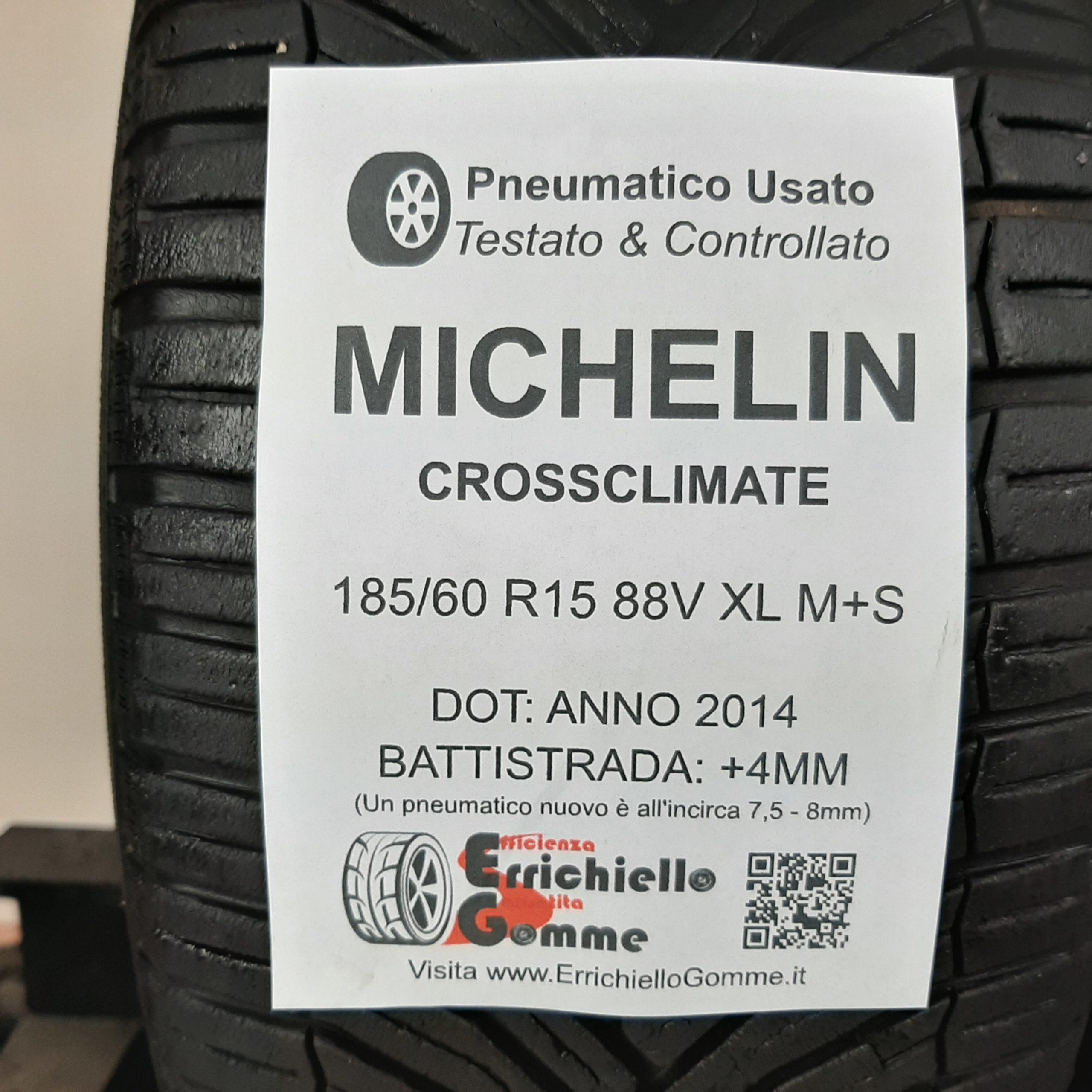 Gomme 4 stagioni Tomket 185//60 R15 88V ALLYEAR 3 3PMSF Certif XL M+S pneumatici