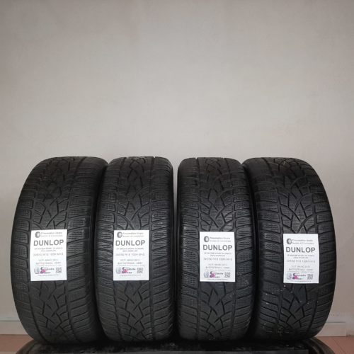 245/50 R18 100H M+S Dunlop SP Winter Sport 3D (DSST) (RSC) Runflat  – 60% +5mm – Gomme Invernali