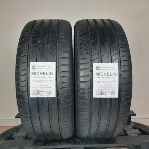 255/45 R20 101W Michelin Latitude Sport 3 (MO) – 60% +5mm – Gomme Estive