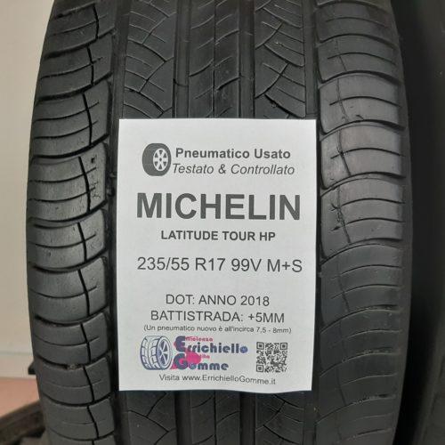235/55 R17 99V M+S Michelin Latitude Tour HP – 60% +5mm – Gomme 4 Stagioni