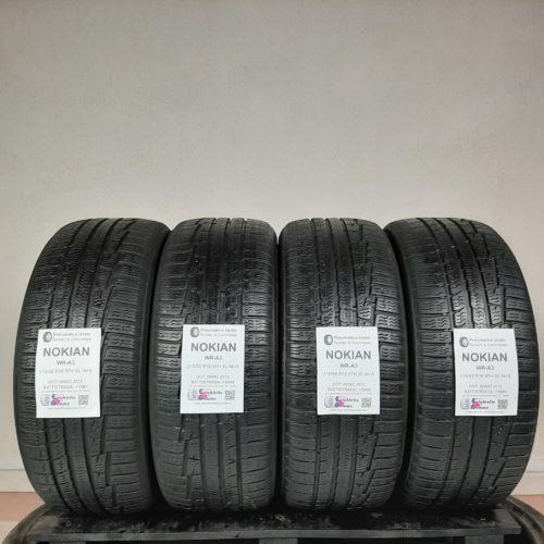 215/55 R16 97H XL M+S Nokian WR-A3 – 60% +5mm Gomme Invernali