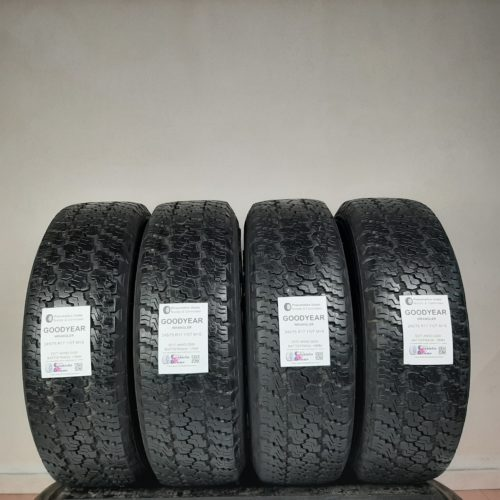 245/75 R17 100T M+S Goodyear Wrangler – 70% +6mm – Gomme 4 Stagioni
